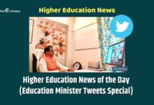 Photo of Higher Education News of the Day (Education Minister Tweets Special)