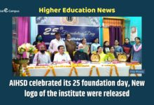 Photo of AIHSD celebrated its 25 foundation day, New logo of the institute were released